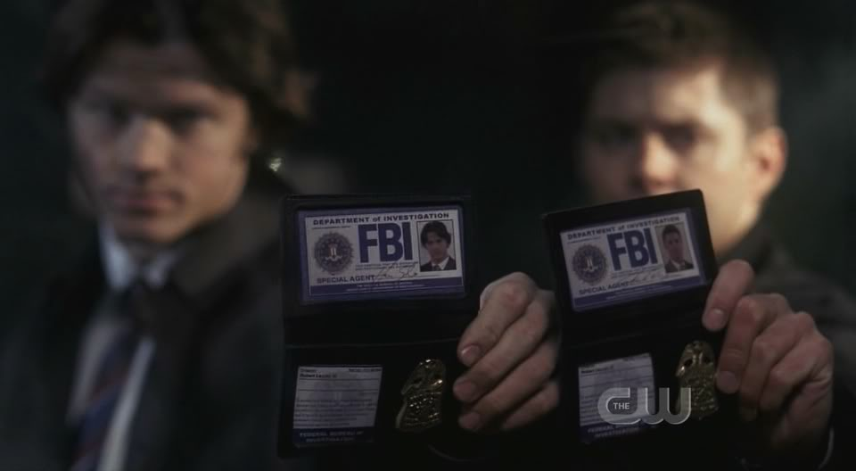 Sam ve Dean'in sahte FBI kimlikleri