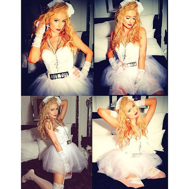 Paris-Hilton-Madonna