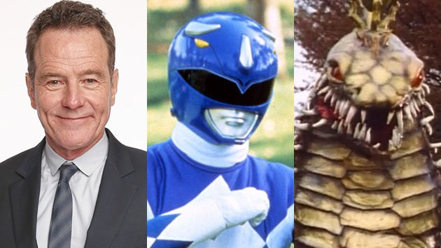 Bryan Cranston, Mighty Morphin Power Rangers, Snizard