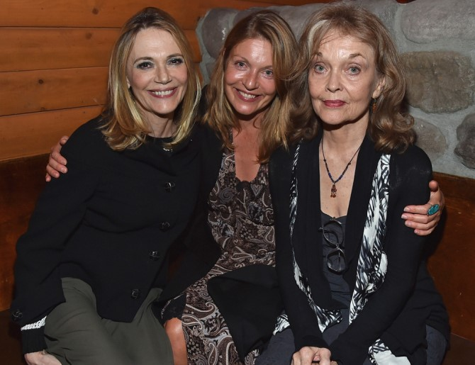 Peggy Lipton (Norma Jenning), Laura Palmer (Sheryl Lee), Grace Zabriskie (Laura'nın annesi)