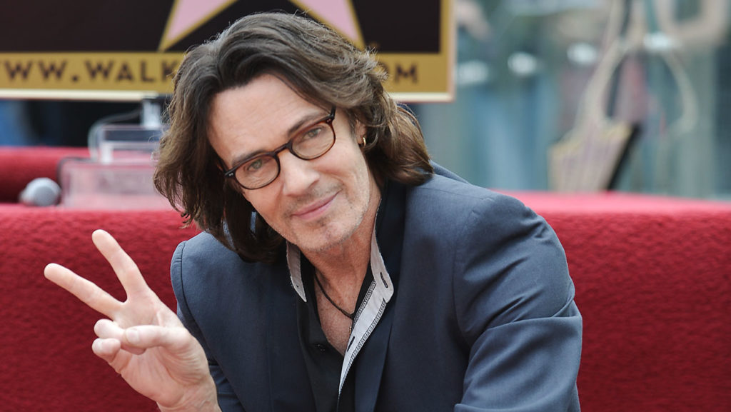 Rick Springfield attends the ceremony honoring him with a star on the Hollywood Walk of Fame on Friday, May 9, 2014, in Los Angeles. (Photo by Richard Shotwell/Invision/AP)