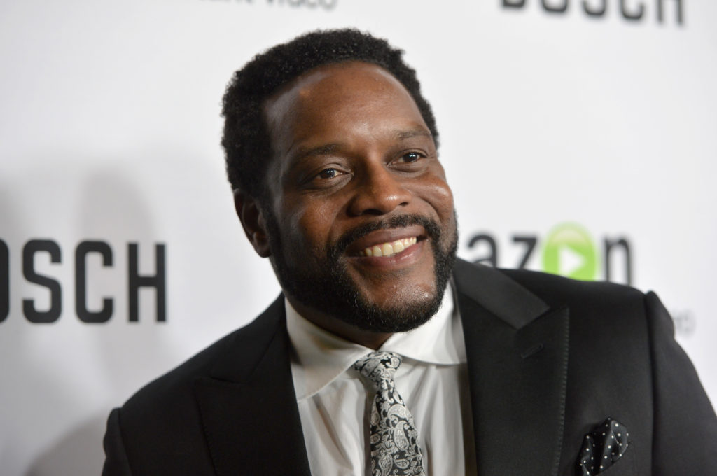 HOLLYWOOD, CA - FEBRUARY 03: Actor Chad Coleman arrives for the red carpet premiere screening for Amazon's first original drama series 'Bosch' at The Dome at Arclight Hollywood on February 3, 2015 in Hollywood, California. (Photo by Alberto E. Rodriguez/Getty Images)